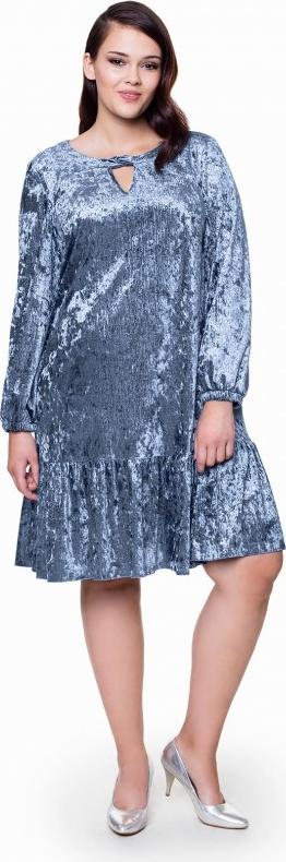 Niebieska sukienka l'af