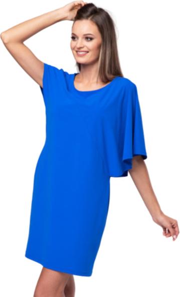 Niebieska sukienka Look made with love mini