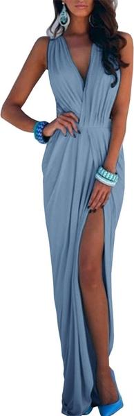 Niebieska sukienka Magmac