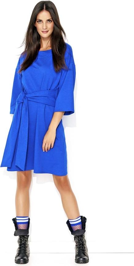 Niebieska sukienka Makadamia