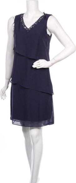 Niebieska sukienka Mariposa