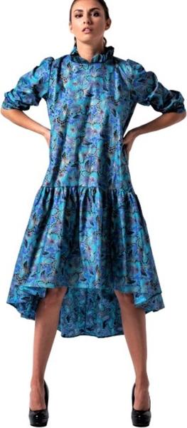 Niebieska sukienka My Image Art