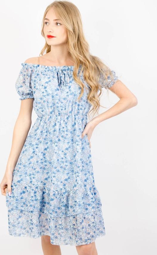 Niebieska sukienka Olika