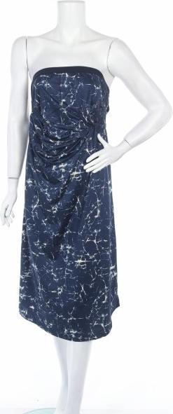 Niebieska sukienka Patagonia bez rękawów prosta