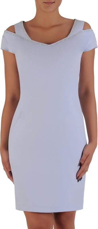 Niebieska sukienka POLSKA