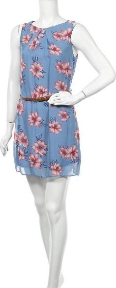 Niebieska sukienka Primark bez rękawów