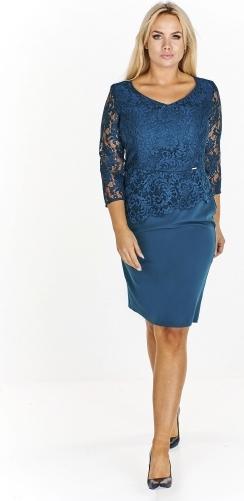 Niebieska sukienka QUARELLE