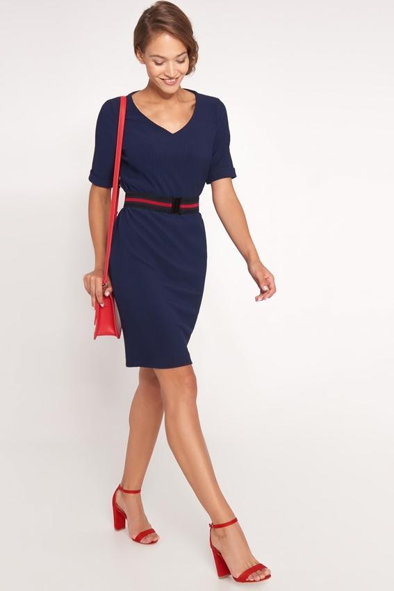 Niebieska sukienka QUIOSQUE