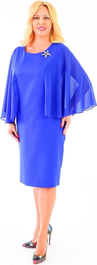 Niebieska sukienka Roxana - sukienki