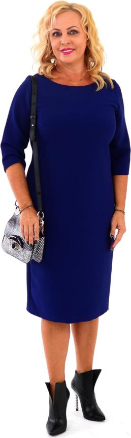 Niebieska sukienka Roxana - sukienki midi