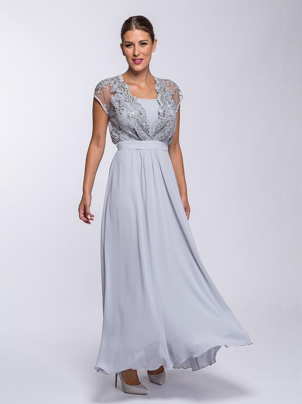 Niebieska sukienka Semper maxi