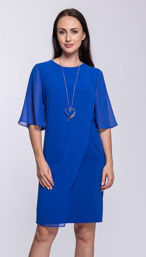Niebieska sukienka Semper midi
