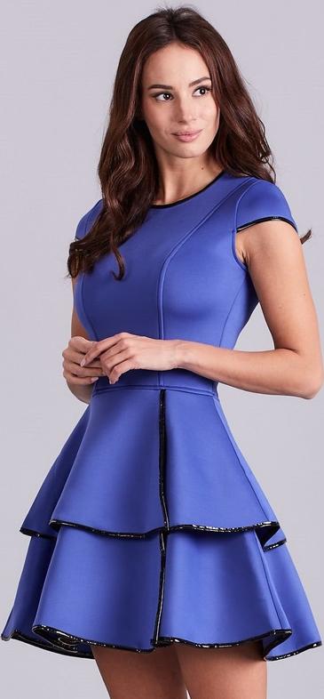 Niebieska sukienka Sheandher.pl