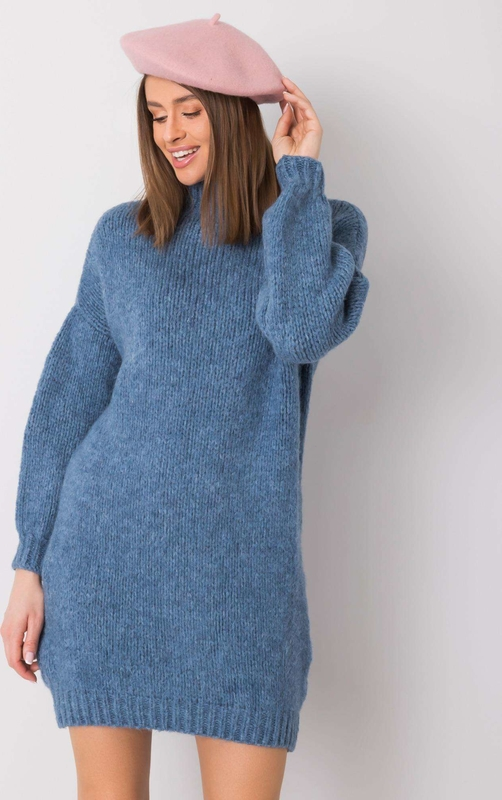 Niebieska sukienka Sheandher.pl mini