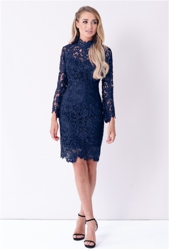 Niebieska sukienka Sistaglam