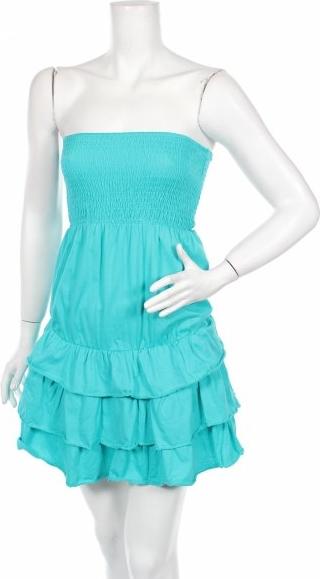 Niebieska sukienka Tezenis bez rękawów