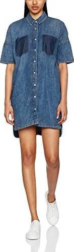 Niebieska sukienka tommy jeans