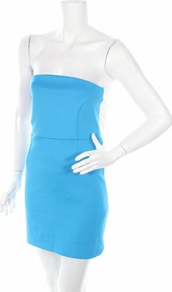 Niebieska sukienka ZARA