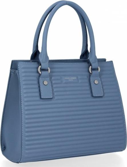 Niebieska torebka David Jones na ramię