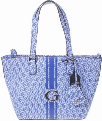 Niebieska torebka Guess