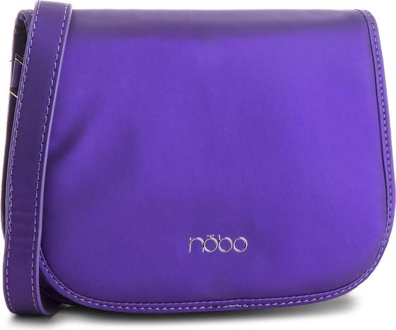 Niebieska torebka NOBO matowa w młodzieżowym stylu