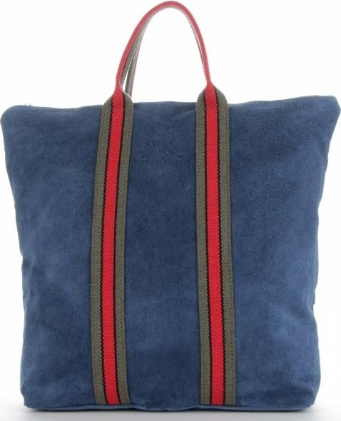 Niebieska torebka VITTORIA GOTTI do ręki w wakacyjnym stylu