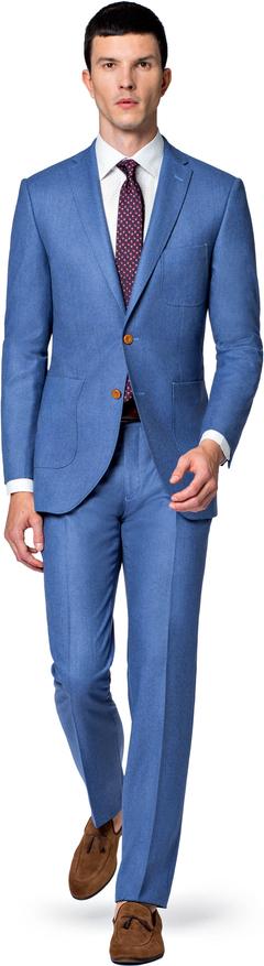 Niebieski garnitur LANCERTO