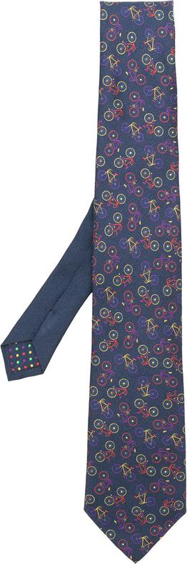 Niebieski krawat Etro