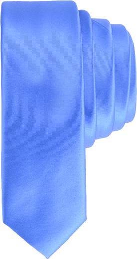 Niebieski krawat Guess