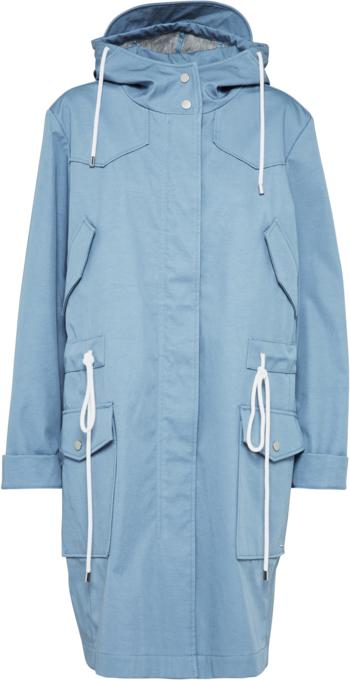 Niebieski płaszcz Boss z bawełny