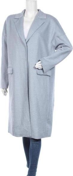 Niebieski płaszcz C&A w stylu casual