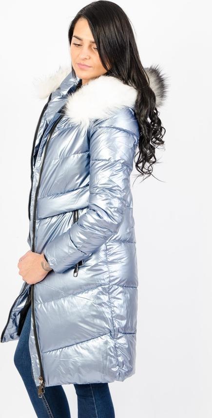 Niebieski płaszcz Olika