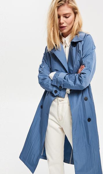 Niebieski płaszcz Reserved