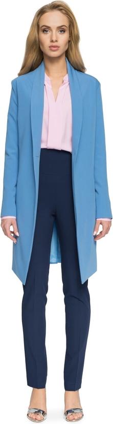 Niebieski płaszcz Style