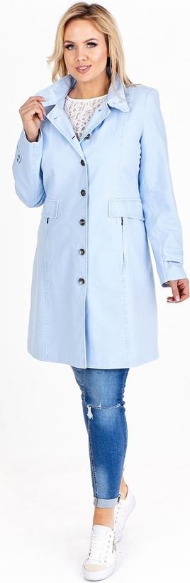 Niebieski płaszcz TAGLESS