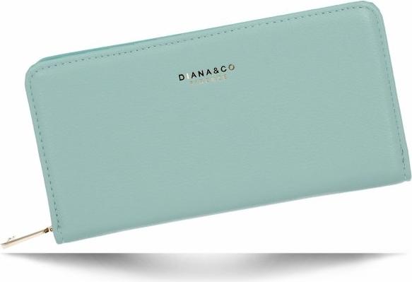 Niebieski portfel Diana&Co