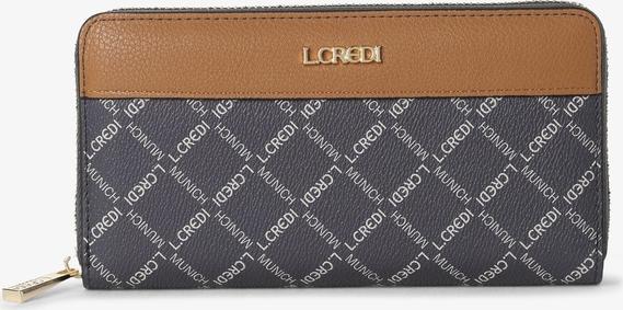 Niebieski portfel L.Credi