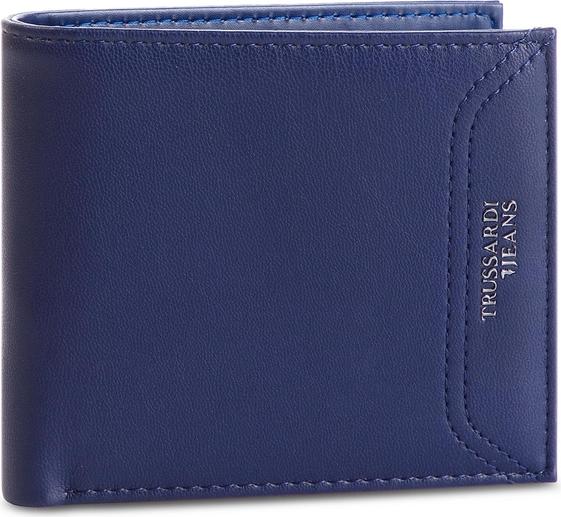 Niebieski portfel męski Trussardi Jeans
