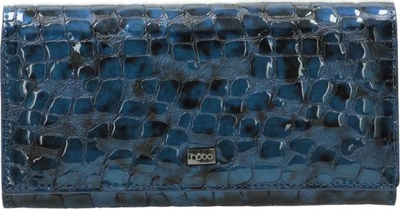 Niebieski portfel NOBO