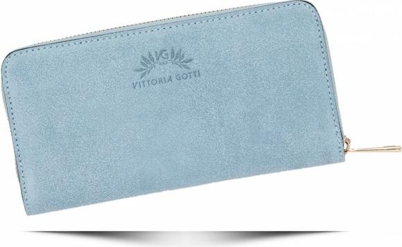 Niebieski portfel VITTORIA GOTTI