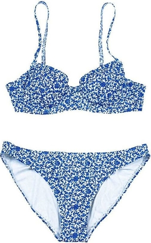 Niebieski strój kąpielowy Tory Burch