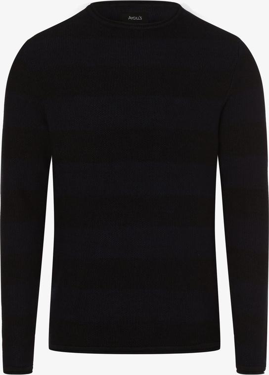 Niebieski sweter Aygill`s w stylu casual