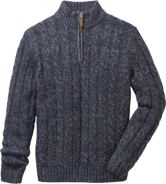 Niebieski sweter bonprix John Baner JEANSWEAR w stylu casual