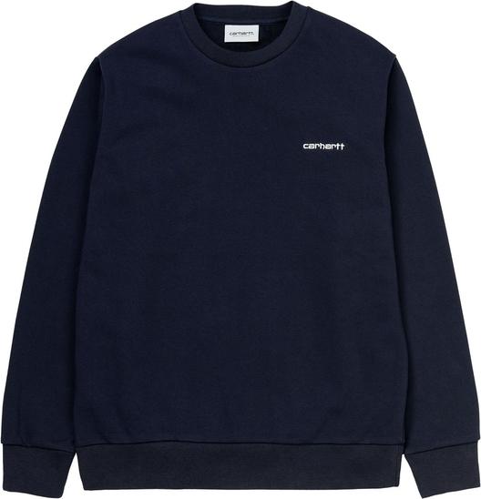 Niebieski sweter Carhartt WIP z wełny w stylu casual