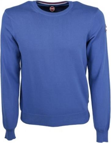 Niebieski sweter Colmar z bawełny
