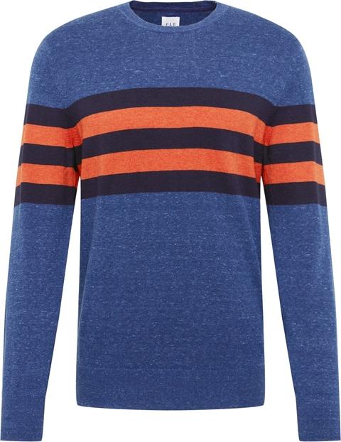 Niebieski sweter Gap z bawełny