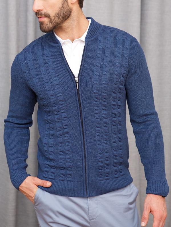 Niebieski sweter Lanieri