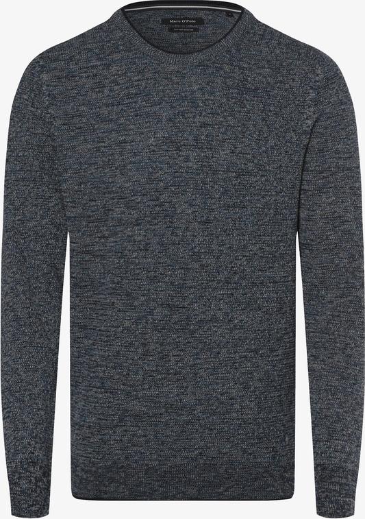 Niebieski sweter Marc O'Polo z dzianiny