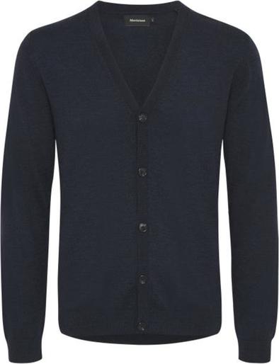 Niebieski sweter Matinique w stylu casual