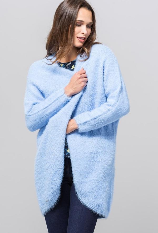 30% OBNIŻONE Niebieski sweter Monnari Odzież Damskie Swetry i bluzy damskie GN SRDRGN-8